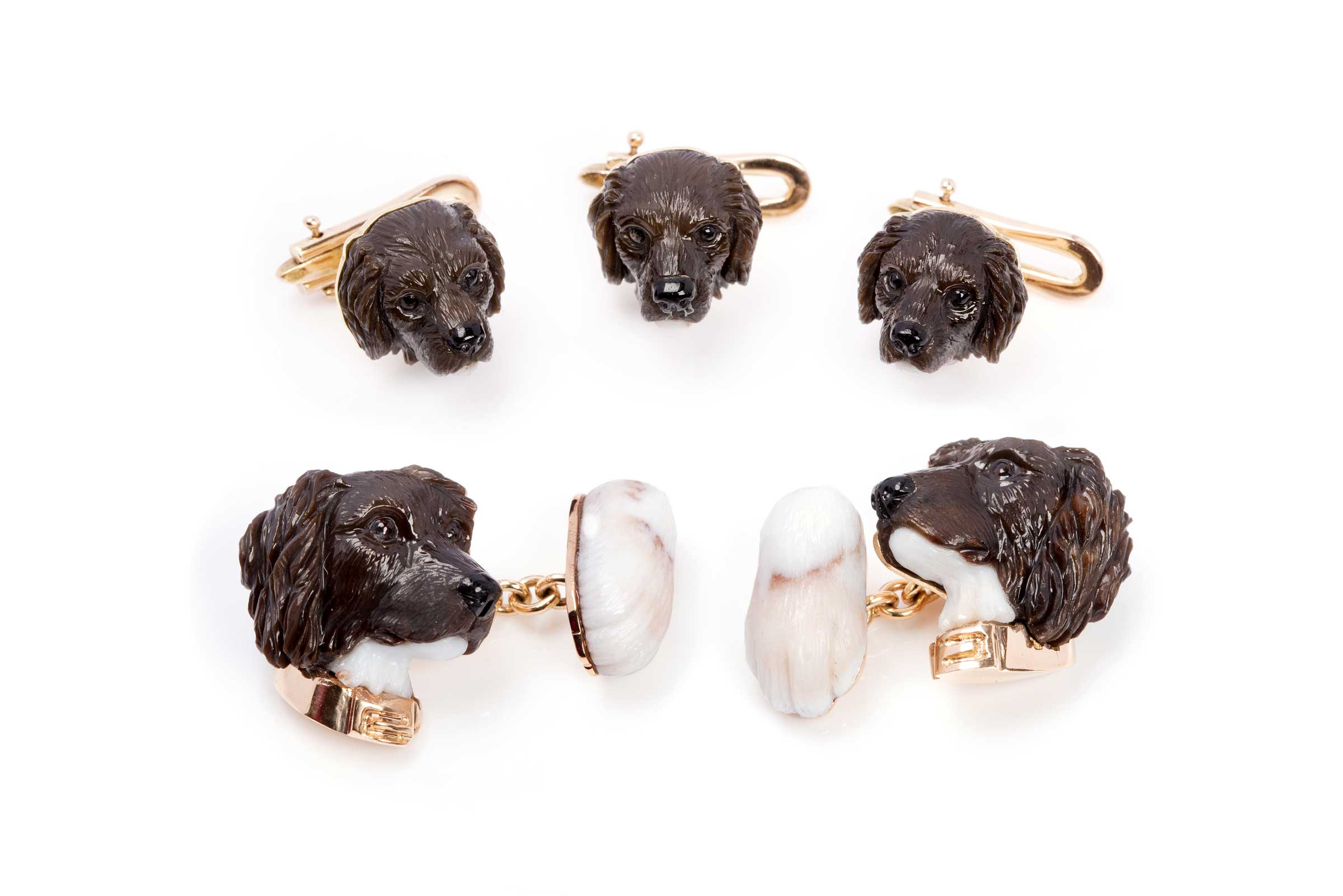 PAULY The Art of Carvings – Custom dog cufflinks